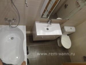 Недорогой ремонт в ванной в спб