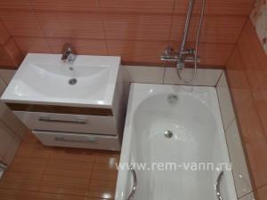 ремонт ванной в хрущёвке